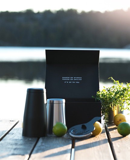 Swedish Tonic Cocktailshaker
