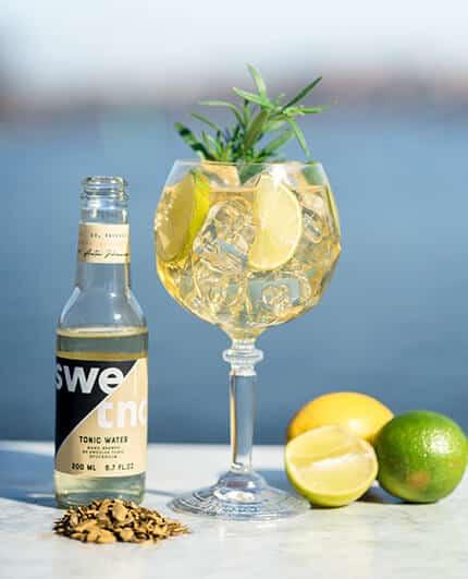 Gin & tonic dricks bäst med en tonic från Swedish Tonic