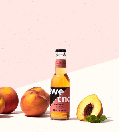 Tonic gjord på riktig persika till din Gin & Tonic