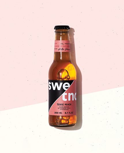 Swedish Tonic Water Peach
