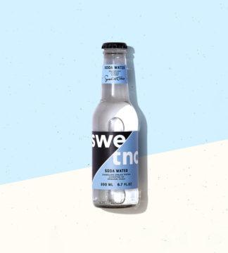 Sodavatten med hög kolsyra