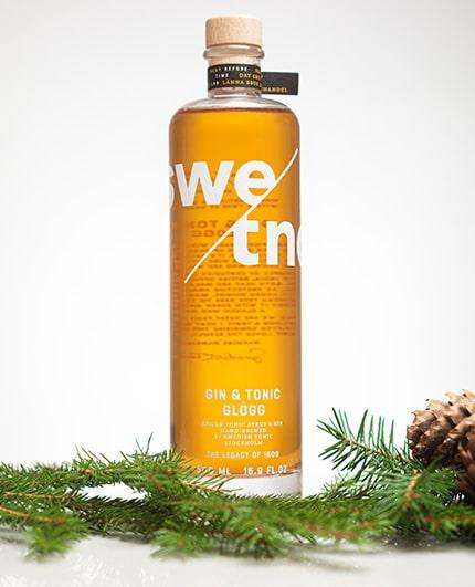 Gin & Tonic-glögg är julens höjdpunkt - från Swedish Tonic