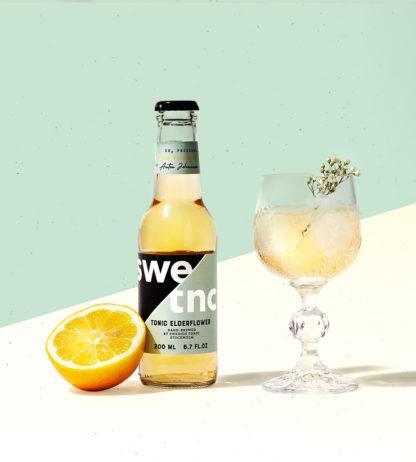 Ekologisk tonic med smak av fläder till din Gin & Tonic
