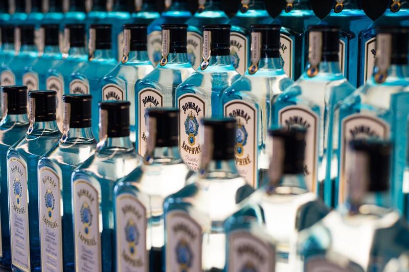 Bombay Saphire - Sveriges fjärde mest sålda gin 2020